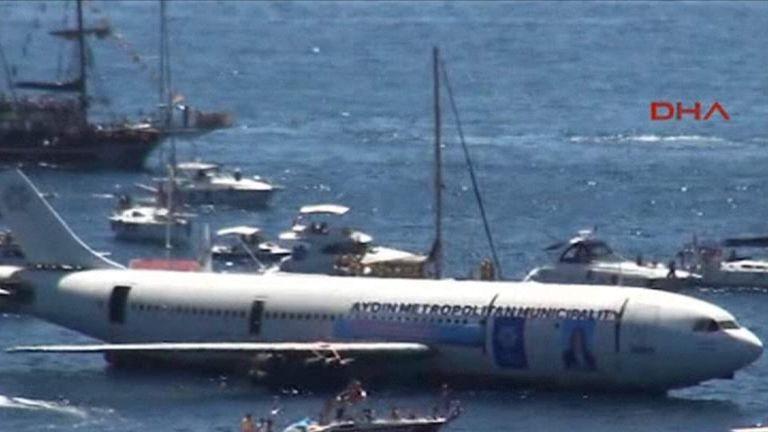 Airbus Sunk Off Turkish Coast
