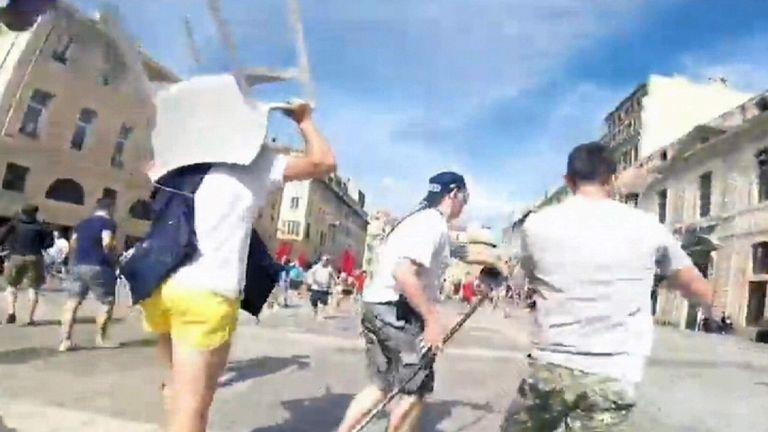 russia hooligan violence