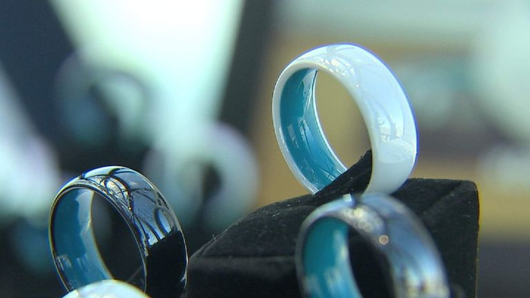 The makers of Kerv call it the world's first contactless payment ring