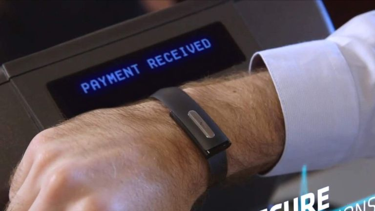 The Nymi wristband verifies your identity based on your unique heart rhythm. Pic: Nymi