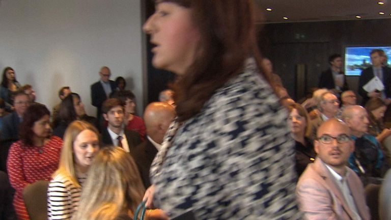 Labour MP Ruth Smeeth walks out of anti-Semitism report press conference