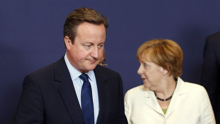 David Cameron attends final EU summit in Brussels