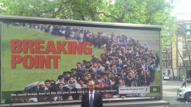 Nigel Farage poster