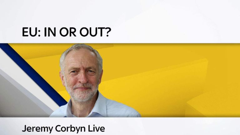 Corbyn live