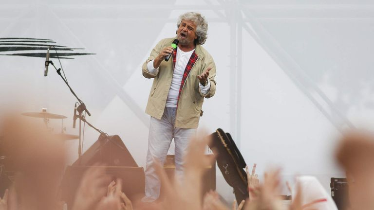 Five Star leader Beppe Grillo hailed the referendum result as a 'victory for democracy'