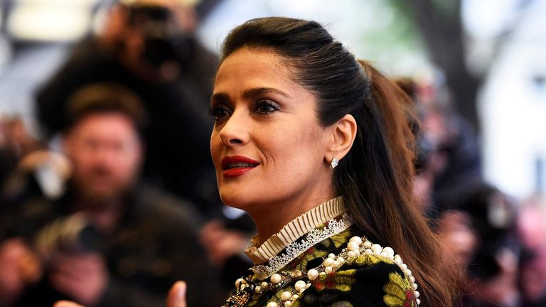 Salma Hayek UK Premiere Tale of Tales London