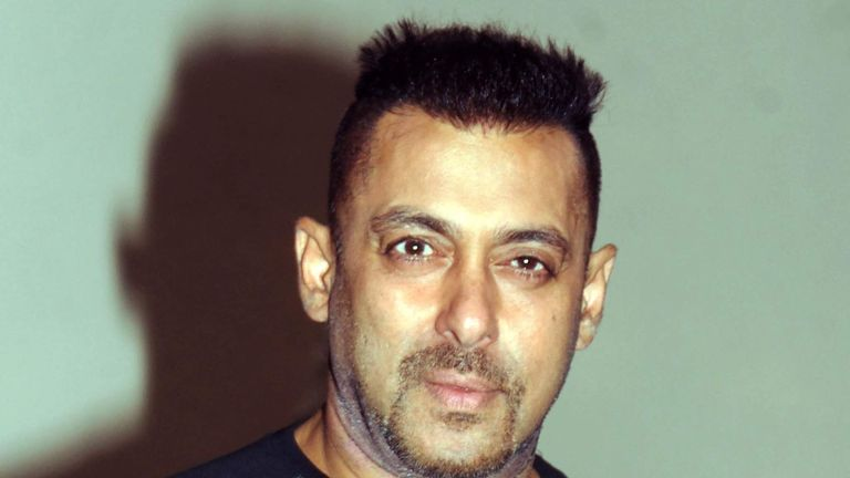 Indian Bollywood actor Salman Khan poses during the promotion of the upcoming Hindi film 'Sultan' in Mumbai