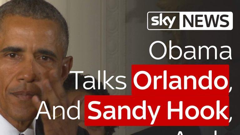 President obama gun crime