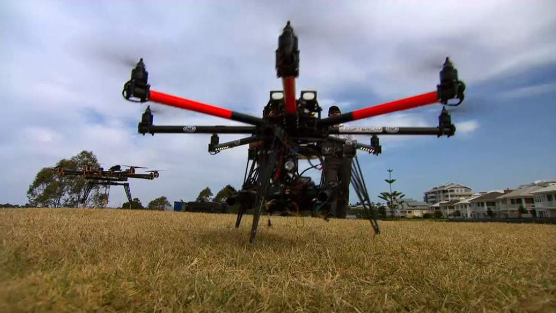 021113 SUNRISE DRONE AUSTRALIA