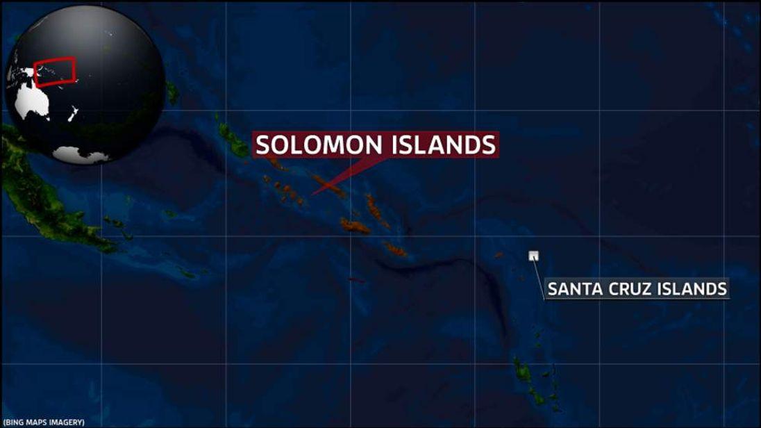 The Santa Cruz Islands in the Solomon Islands