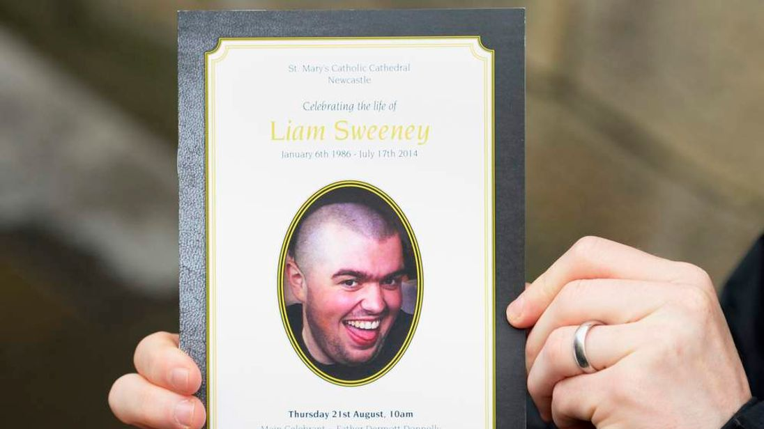 Liam Sweeney funeral
