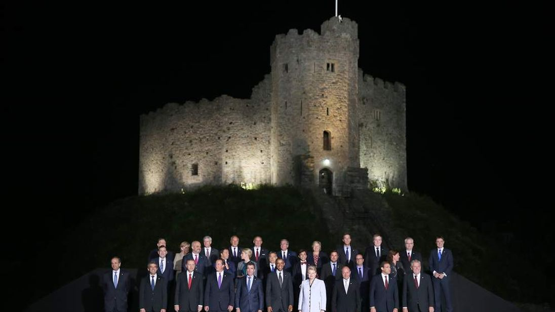Nato Summit 2014 Family Photo