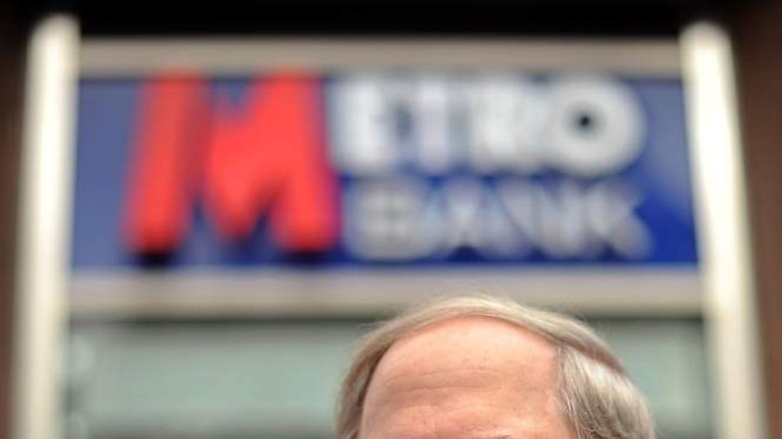 Vernon Hill, US billionaire businessman and vice chairman of Metro Bank