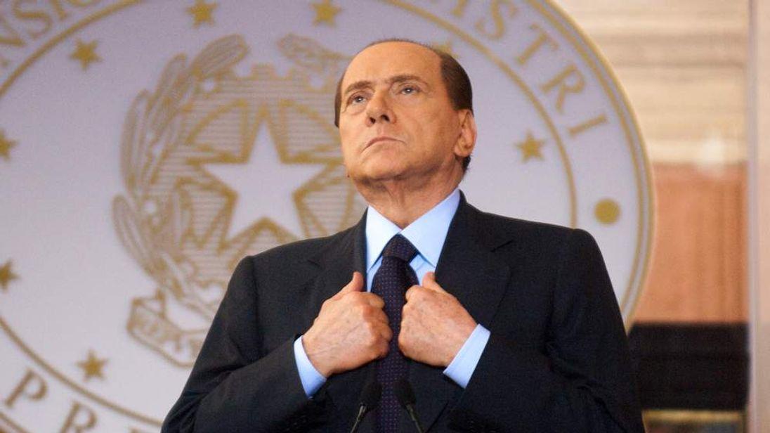 Italian Prime Minister Silvio Berlusconi attends the Italy-France Summit, 2011