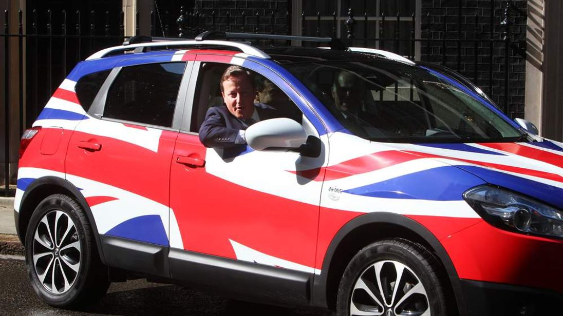 The UK car industry is accelerating