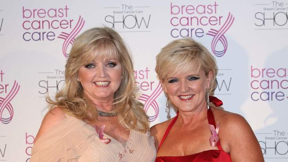 Bernie Nolan's cancer returns
