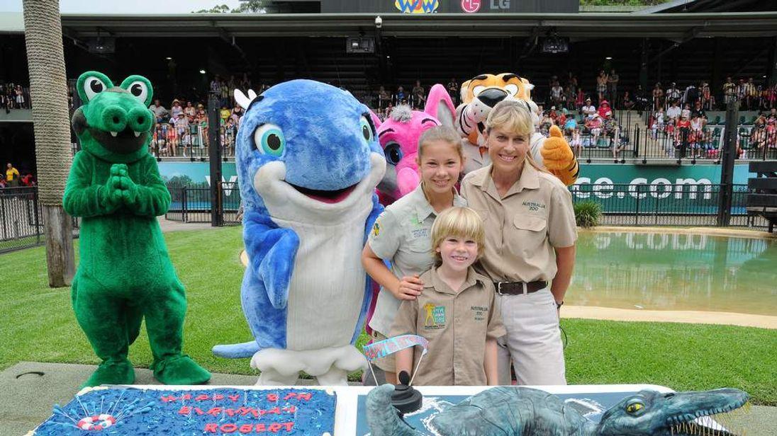 Robert Irwin Celebrates His Eighth Birthday At Australia Zoo