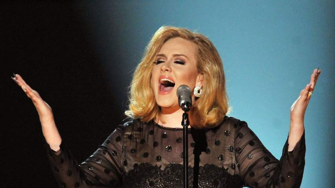 Adele sings the theme for the Bond movie Skyfall