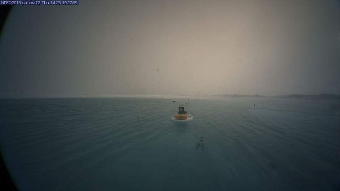 North Pole on Thursday, July 25, 2013