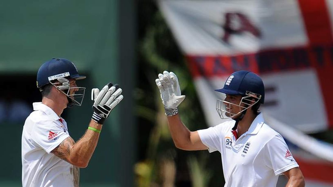 Cook and Pietersen