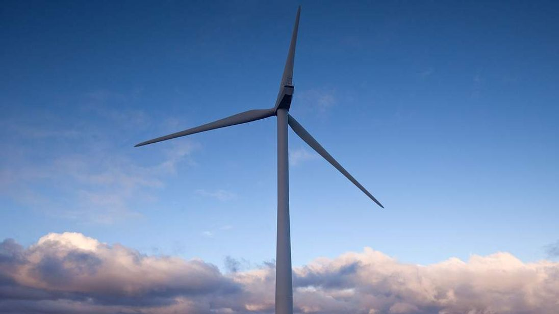 A wind turbine. (File picture)