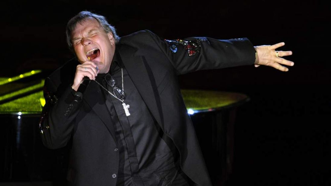 Meat Loaf performs in New York in June 2012