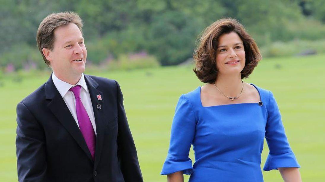 Nick and Miriam Clegg