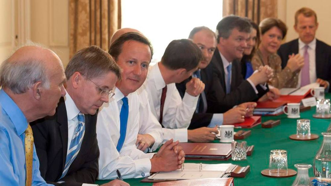 David Cameron and new Cabinet