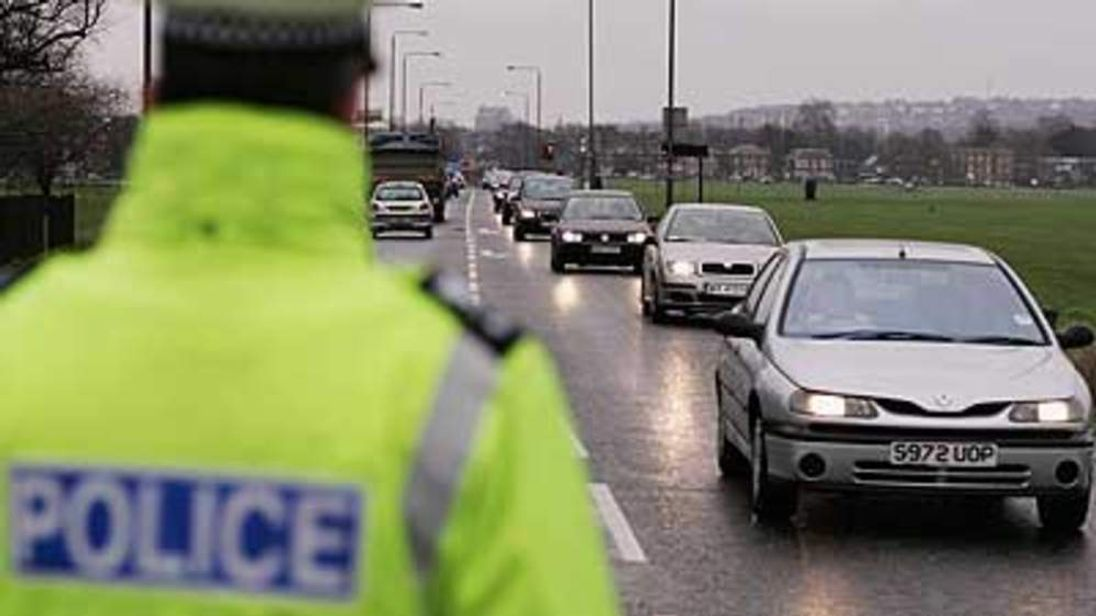 Road traffic police
