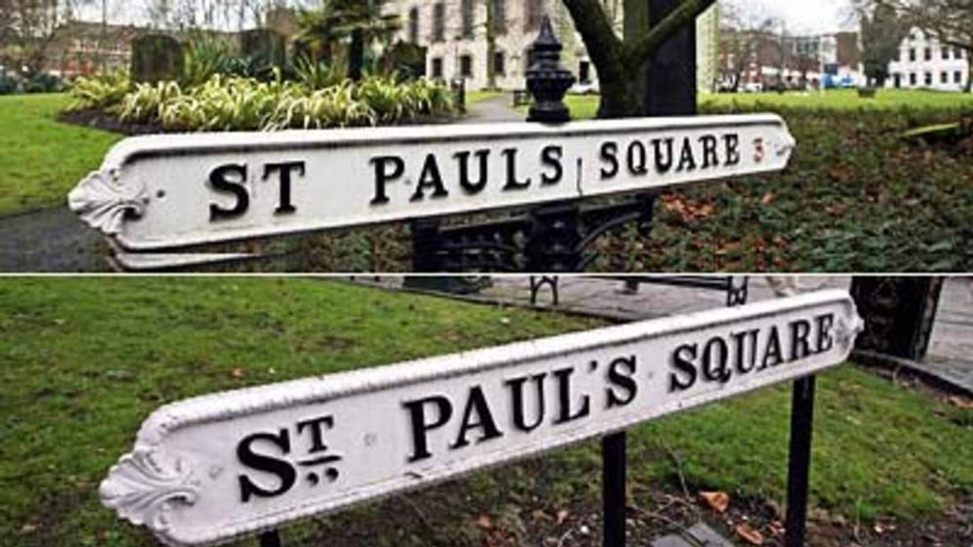 St. Paul's Square or St. Pauls Square in Birmingham