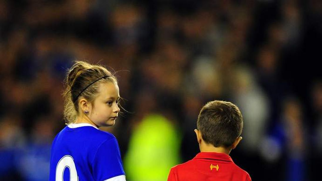 Everton Hillsborough Tribute At Goodison Park