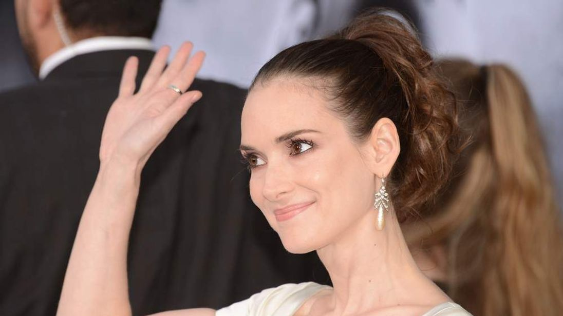 Winona Ryder arrives for the Hollywood premiere of Frankenweenie