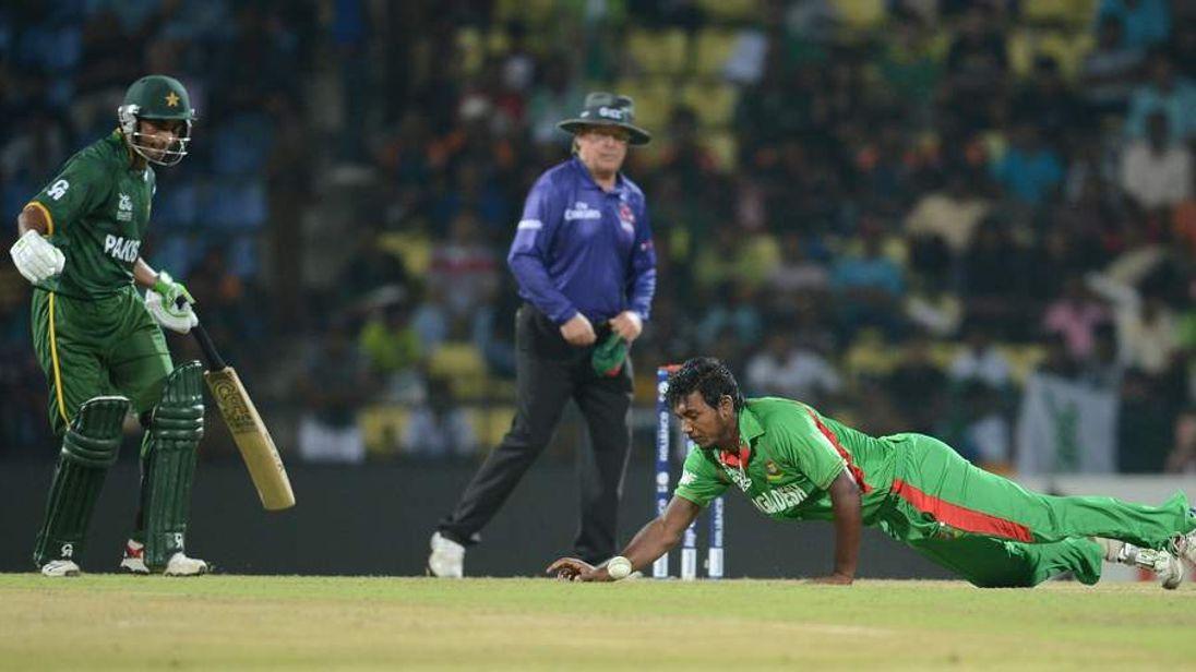 Pakistan v Bangladesh during ICC World T20 in 2012