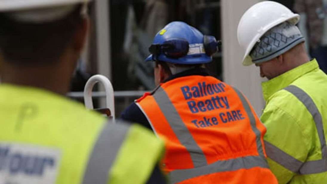 Balfour Beatty Construction Workers