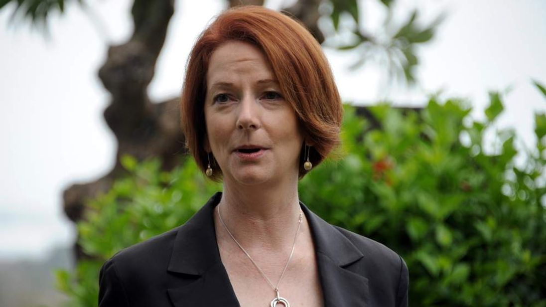 Australia Prime Minister Julia Gillard