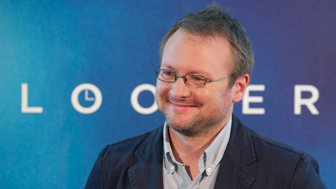 Director Rian Johnson.