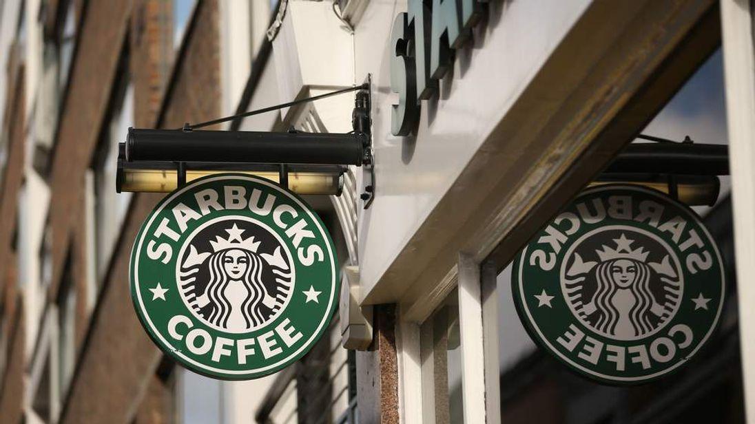 Starbucks store in London