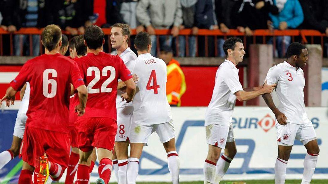 Serbia England u21
