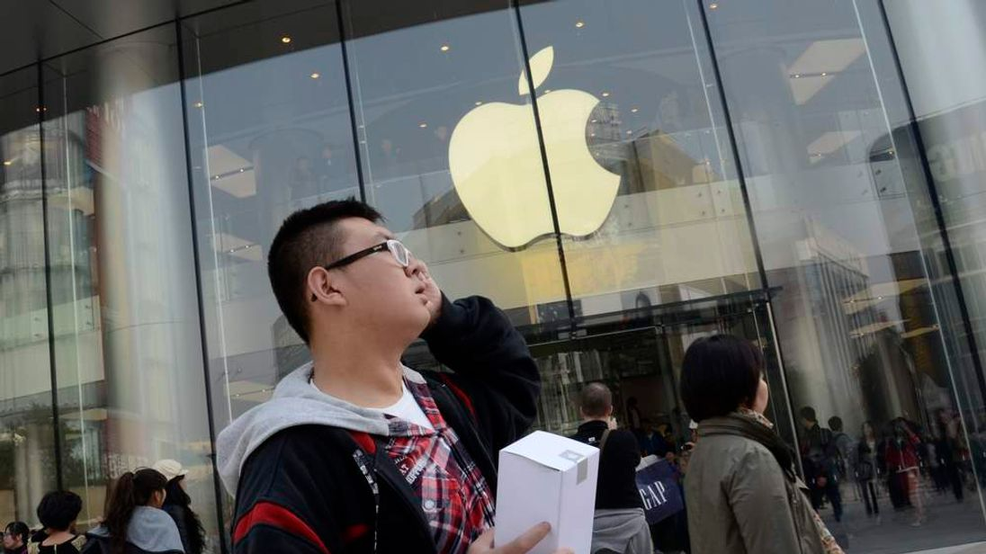 CHINA-US-TECHNOLOGY-COMPANY-APPLE