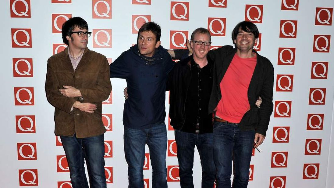 Blur win at Q Awards