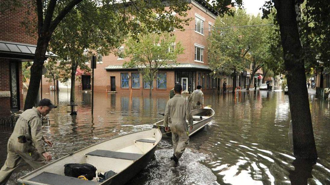Relief efforts in Hoboken