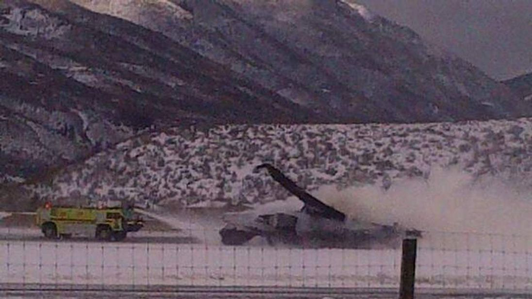 Plane crash at Aspen Airport in Colorado