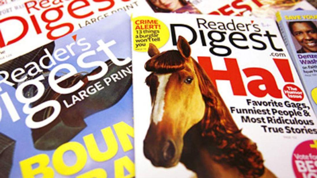 Copies of US Reader's Digest magazine