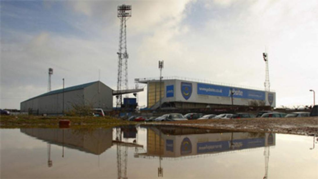 Portsmouth's ground - Fratton Park