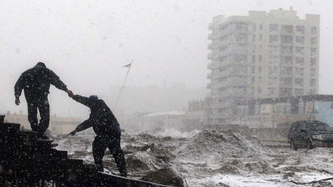 East Coast Of US Set For Winter Storm