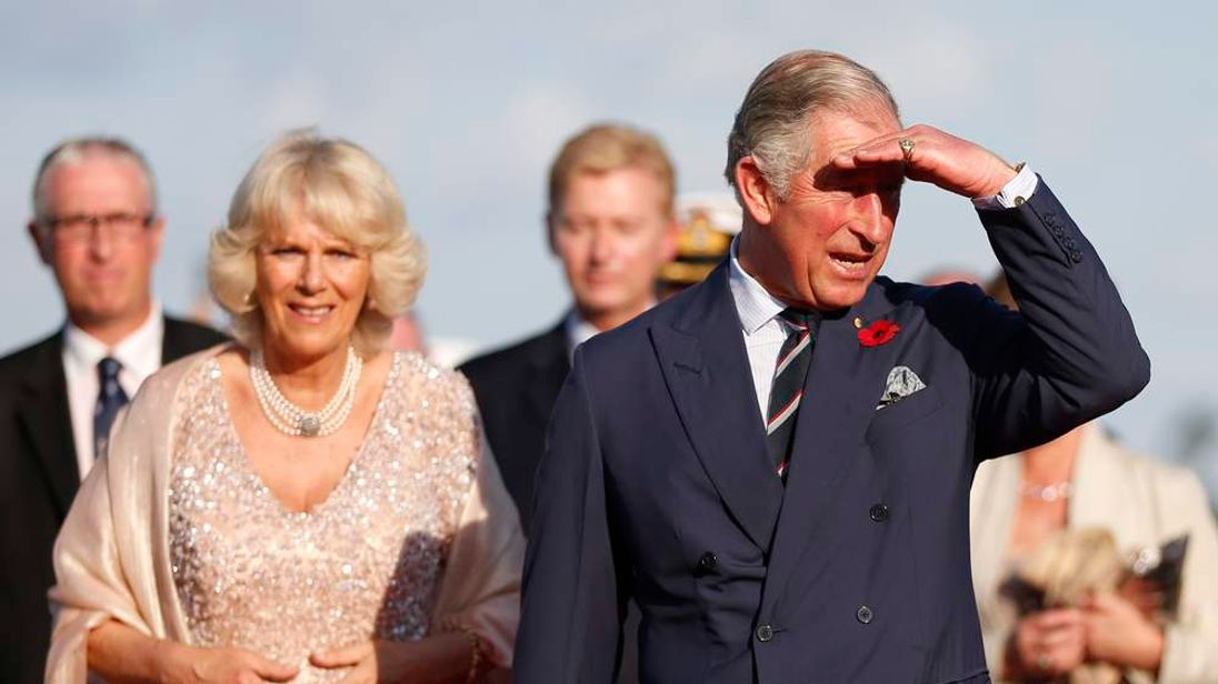 Prince Charles and his wife Camilla visit Sydney, Australia