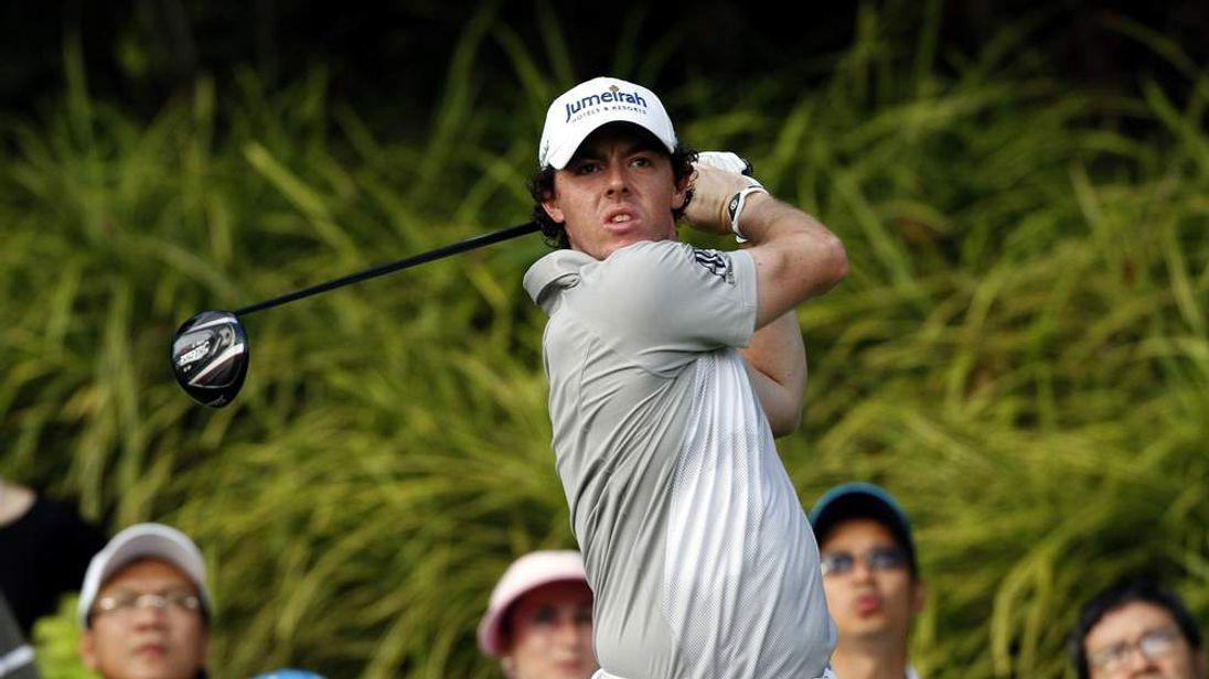 Rory McIlroy Singapore Open