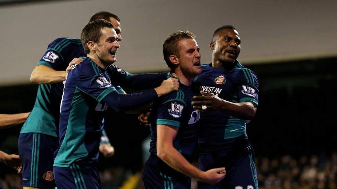 Fulham 1 Sinderland 3