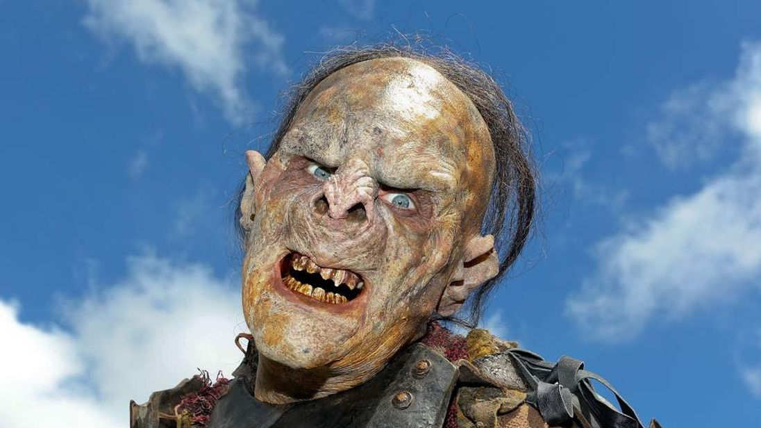 An orc from The Hobbit