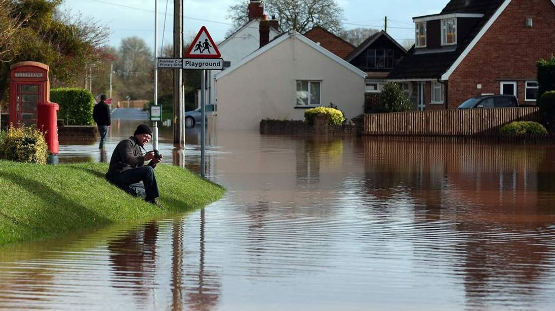 Flash Floods Cause Chaos In The South West